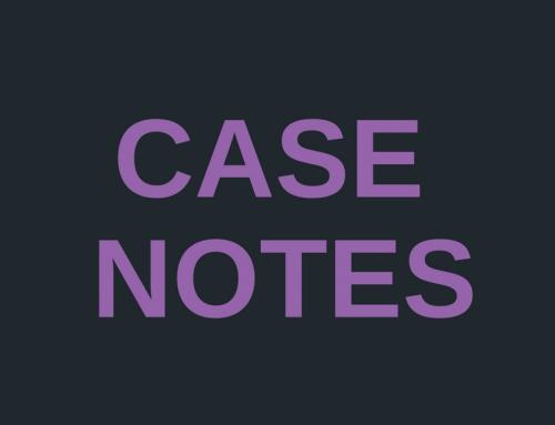 Case Notes: McGrory v Medina Property Inc Services Pty Limited