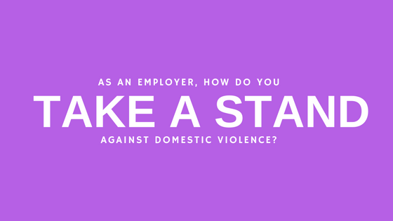 Taking A Stand Against Domestic Violence