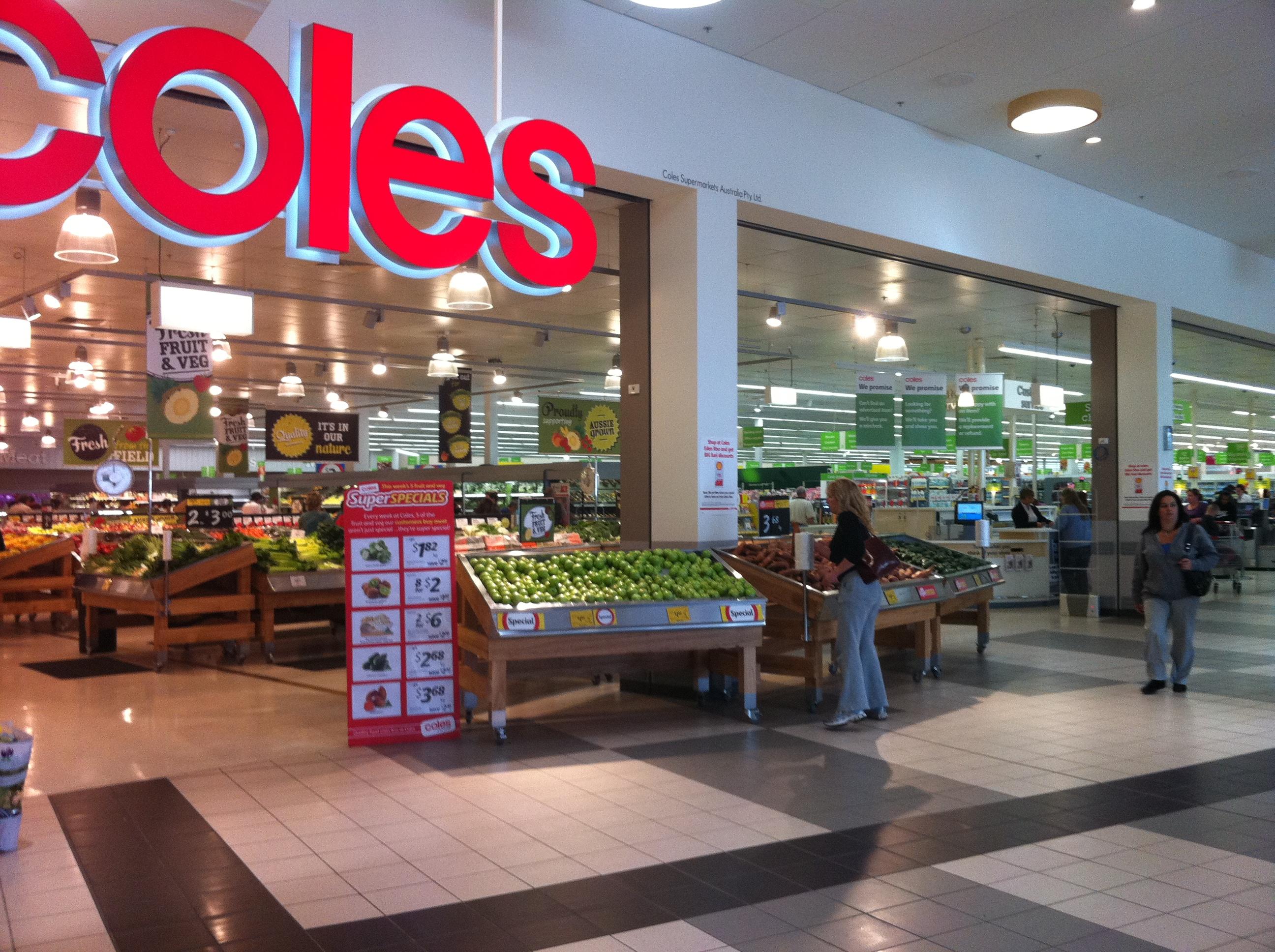 Refurbished Coles Supermarket In Berwick