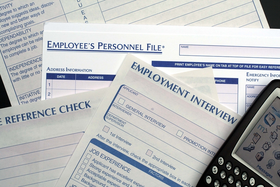 Employee Personnel Files