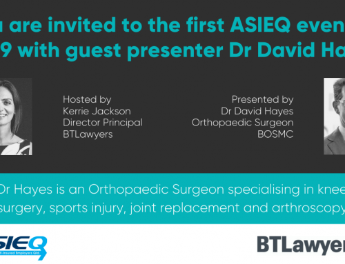 BTLawyers / ASIEQ Event – 7 February, 2019