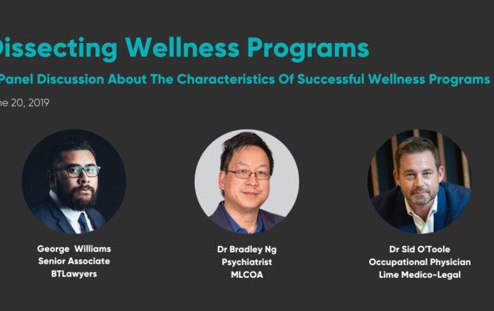 Dissecting Wellness Programs June 2019