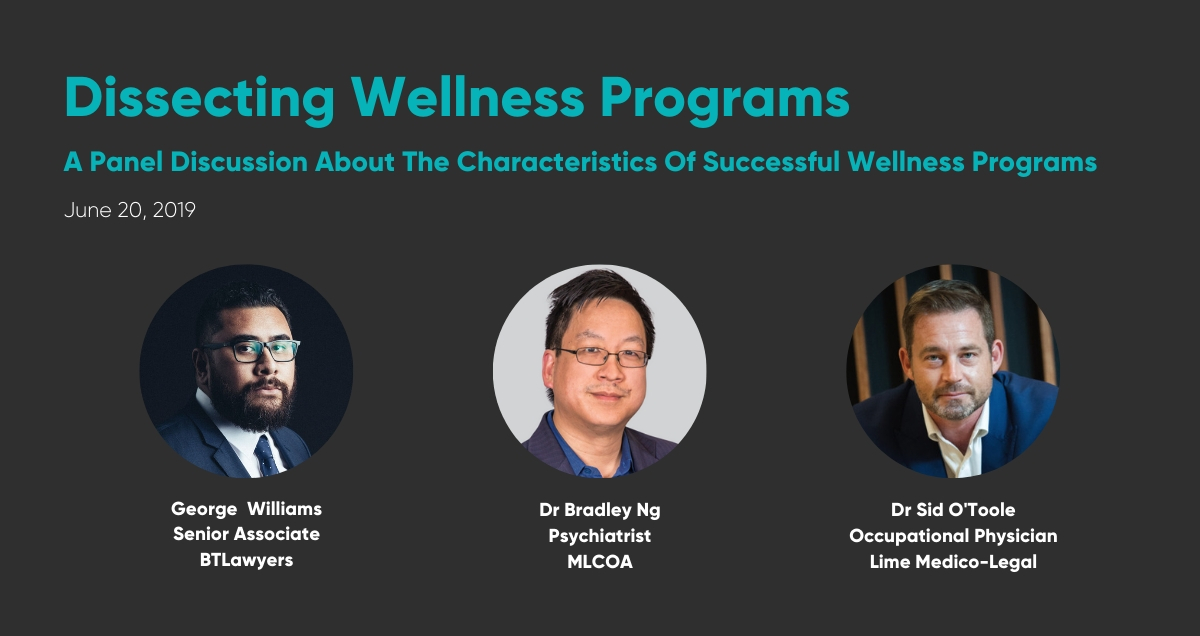Dissecting Wellness Programs June 2019
