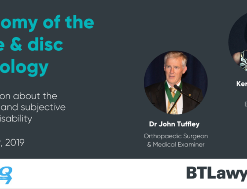 ASIEQ & BTL Seminar: Anatomy of the Spine and Disc Pathology