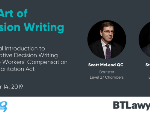 The Art of Decision Writing