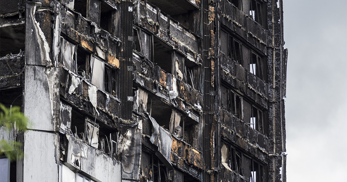 Grenfell Tower 2017 - Professional Indemnity Insurance Crisis