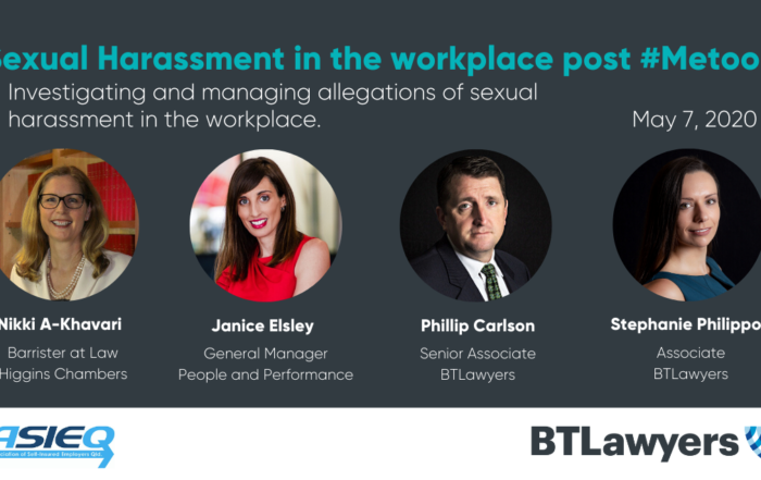sexual harassment in the workplace - BTLawyers