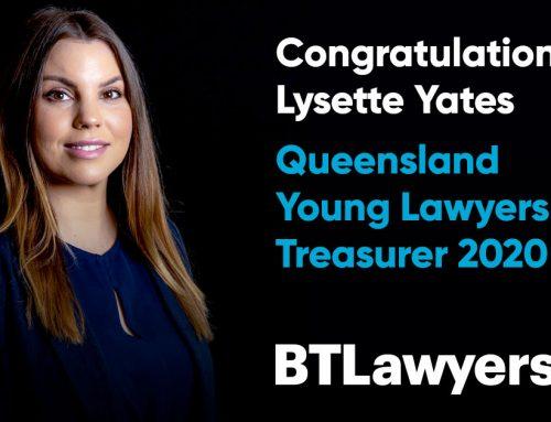 Congratulations Lysette Yates